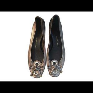 Soft Bronze Janine Driver Pumps heels